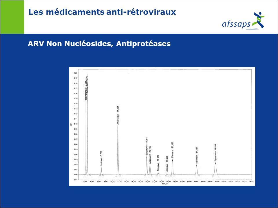Les médicaments anti-rétroviraux ARV Non Nucléosides, Antiprotéases