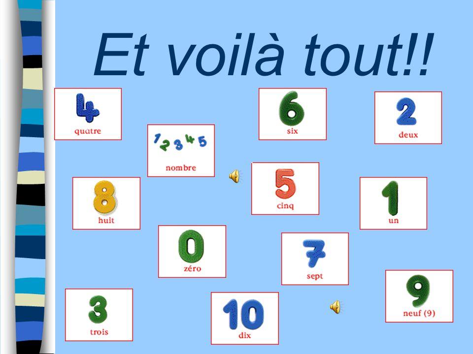 9 + 1 = Dites les résultats en français, puis cliquez sur Correction pour vérifier vos réponses: 10 CorrectionAvancez