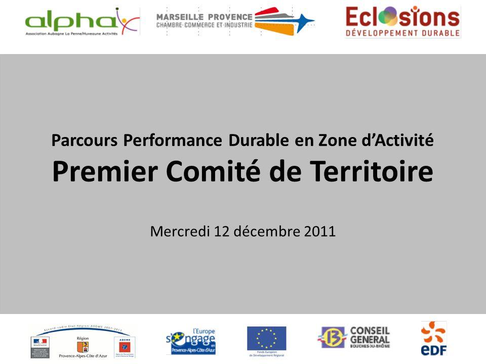 2010-05-31_Présentation FILIRSERédigé par Gwenaël Kervajan le 31 Mai 2010 Parcours Performance Durable en Zone dActivité Premier Comité de Territoire