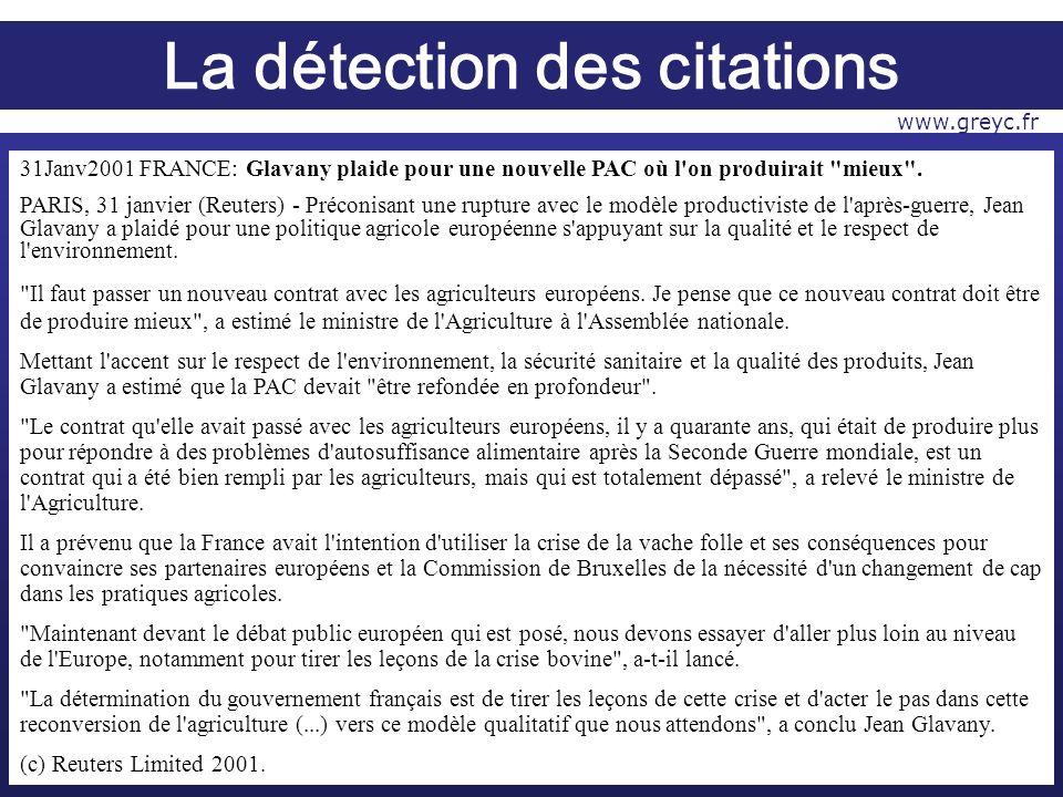 31Janv2001 FRANCE: Glavany plaide pour une nouvelle PAC où l on produirait mieux .
