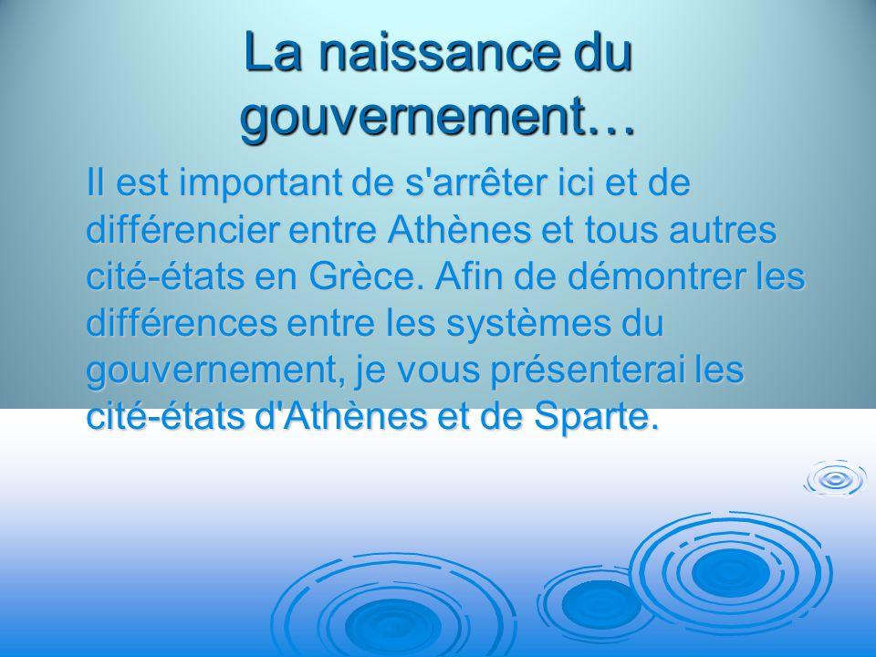 Athènes Pour les citoyens dAthènes de la Grèce classique, la démocratie est surtout synonyme dindépendance par rapport à lextérieur.