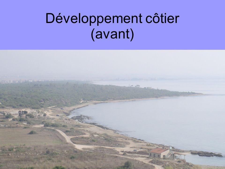 Développement côtier (avant)