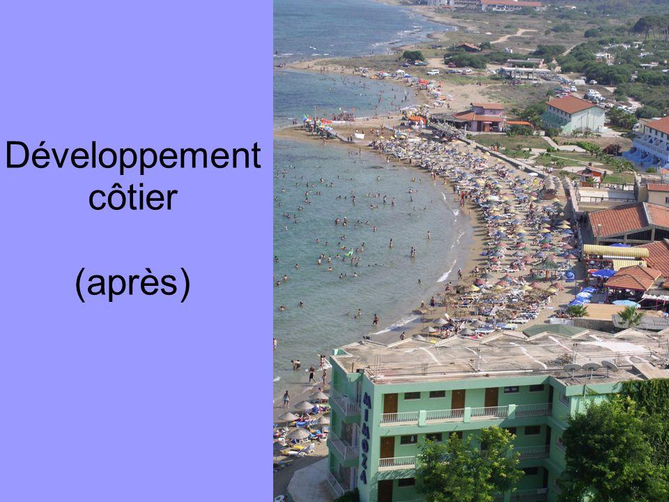Développement côtier (après)
