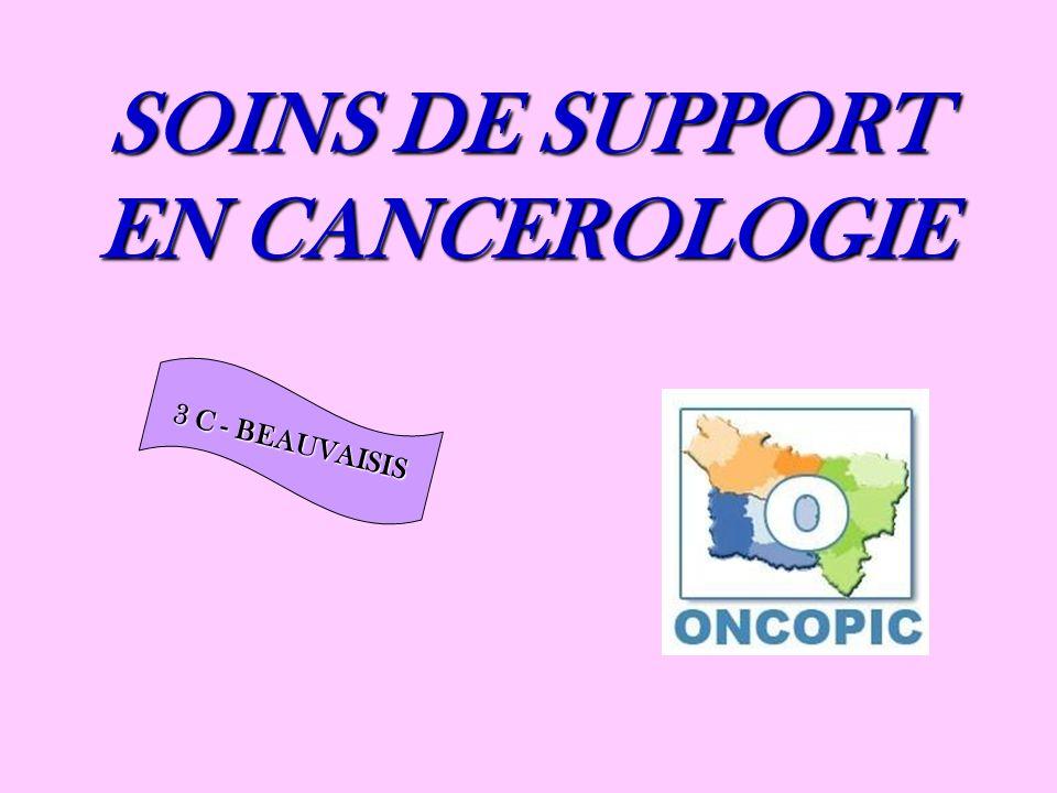 SOINS DE SUPPORT EN CANCEROLOGIE 3 C - BEAUVAISIS