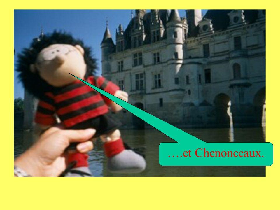 Jai visité les châteaux de Saumur… ….Ussé….