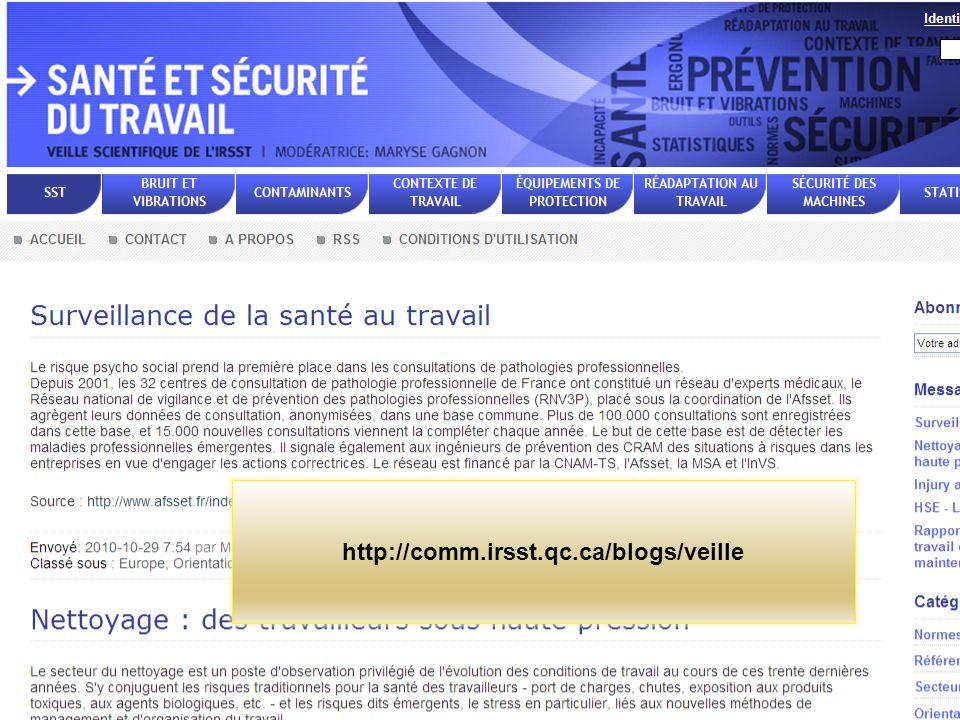 http://comm.irsst.qc.ca/blogs/veille