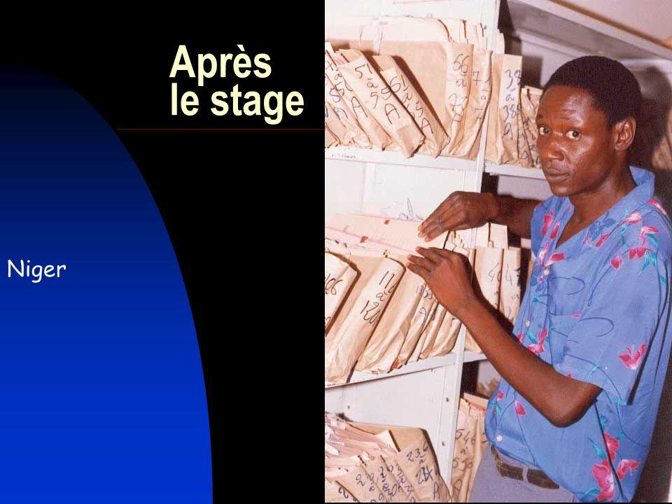25 Après le stage Niger