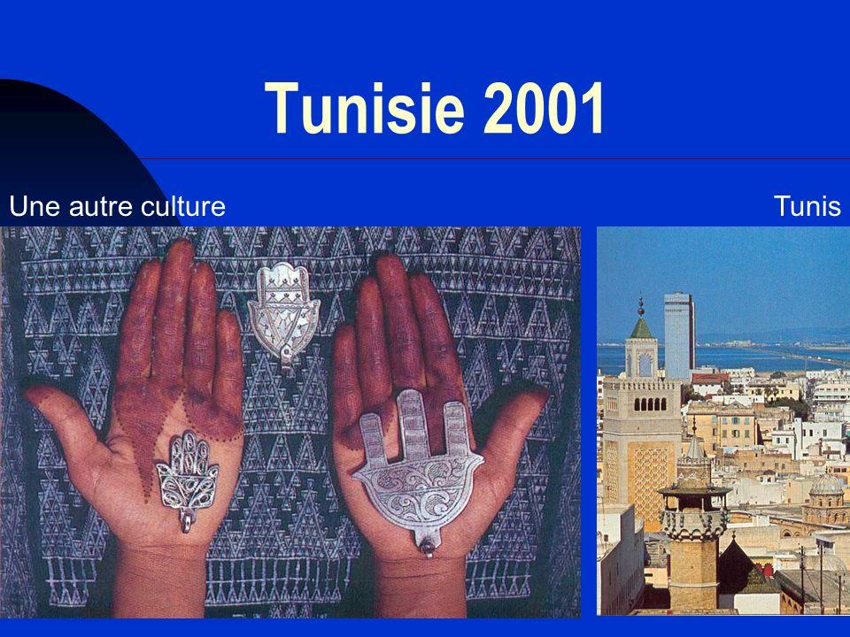 32 Tunisie 2001 Une autre cultureTunis