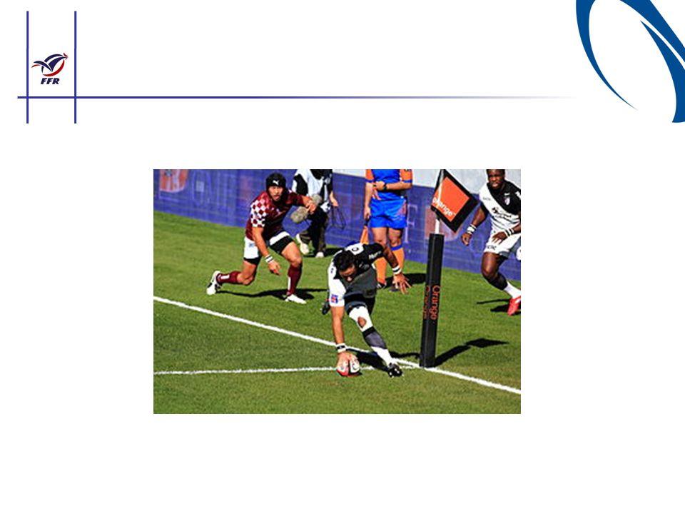 LE TENU (jeu au sol) Règle de sécurité qui oblige tout joueur au sol à lâcher ou de ne pas prendre le ballon.