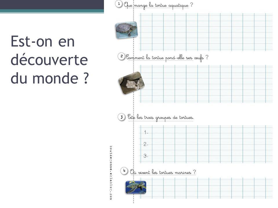 Progression de Viviane Bouysse En cycle 1En cycle 2En cycle 3 Constats : 1.