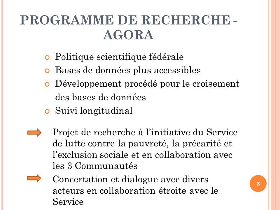 3 ÉQUIPE DE RECHERCHE Université Gent o Département Sociale Agogiek Promoteur M.