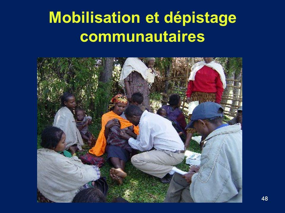 48 Mobilisation et dépistage communautaires