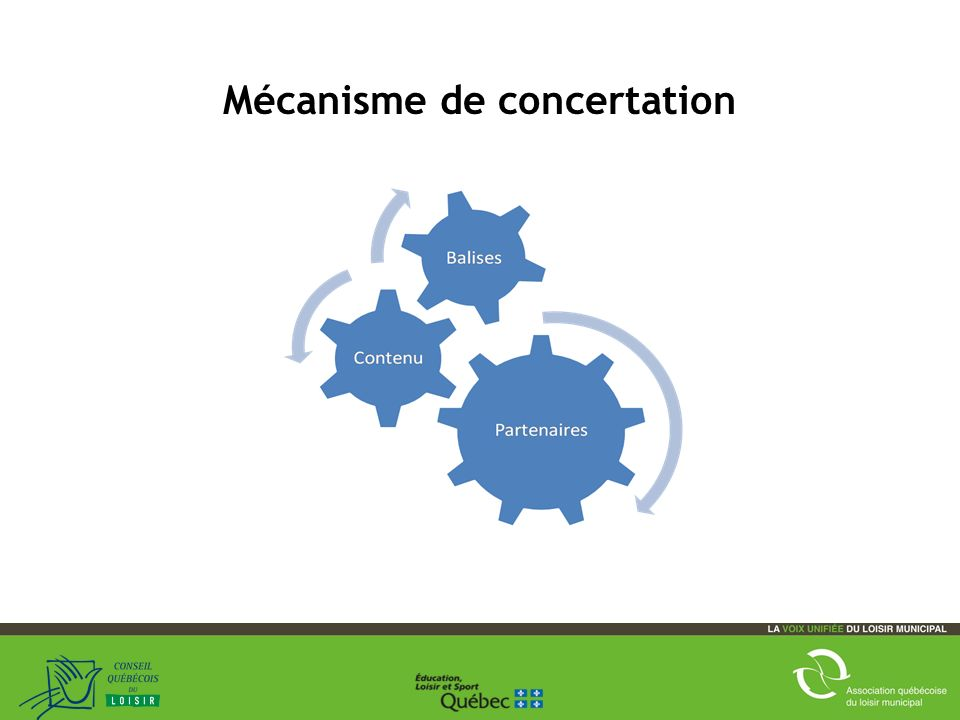 12 Mécanisme de concertation