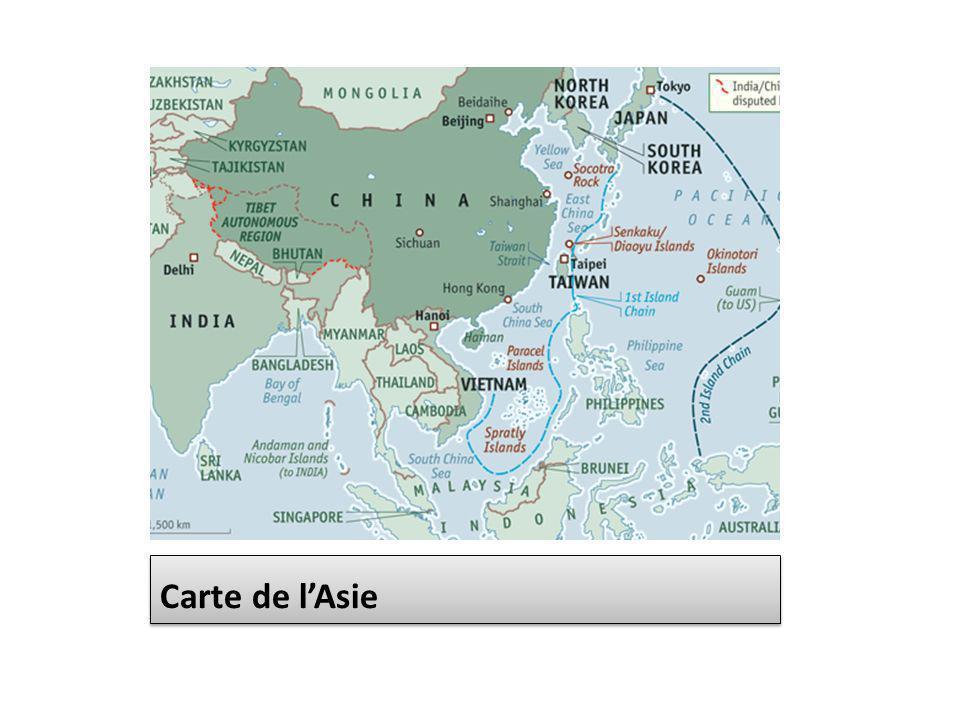 Réengagement US en Asie Pacifique Une des conséquences du basculement du monde vers lAsie est le réengagement des États-Unis dans la région tant en termes politiques, quéconomiques et militaires