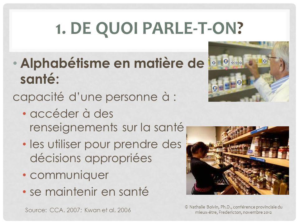 1. DE QUOI PARLE-T-ON.