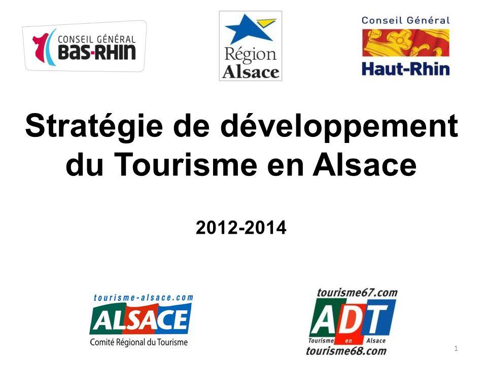 Stratégie de développement du Tourisme en Alsace 2012-2014 1