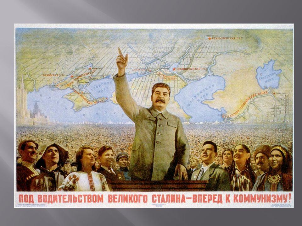 Staline,, pour faire croire à son peuple que tout est pour le mieux, truque les documents, faussant les statistiques des récoltes de blé, les augmentant de vingt millions de tonnes de plus que ce qu elles sont réellement.