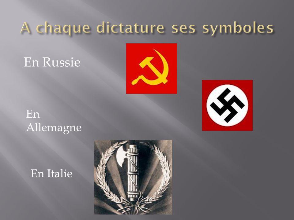 En Russie En Allemagne En Italie