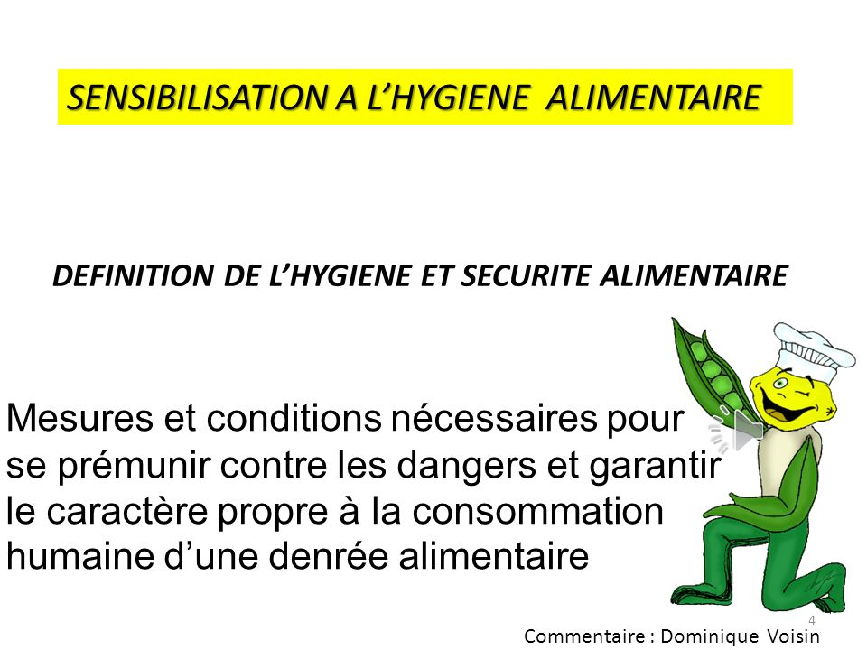 3 LE PAQUET HYGIENE EN APPLICATION DEPUIS LE 01/01/2005 REGLEMENT (CE) FOOD LAW 178/2002 R 853/2004 R 852/2004 R 183/2005 EN APPLICATION DEPUIS LE 01/