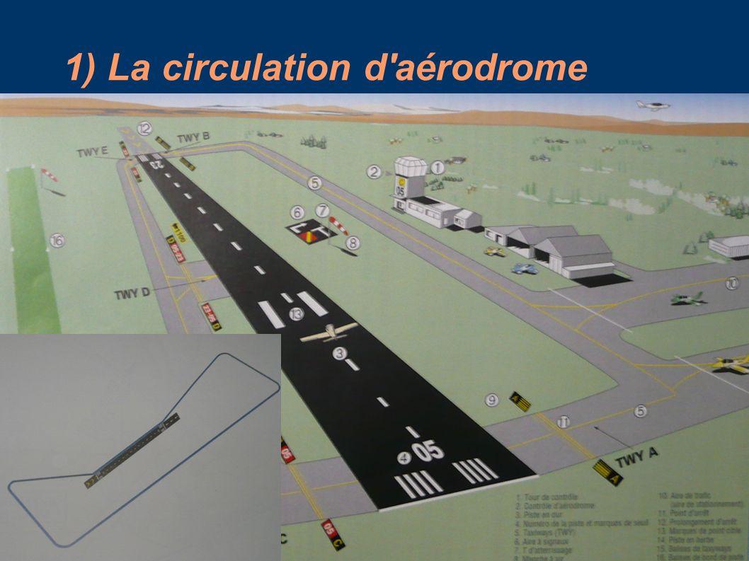 1) La circulation d'aérodrome