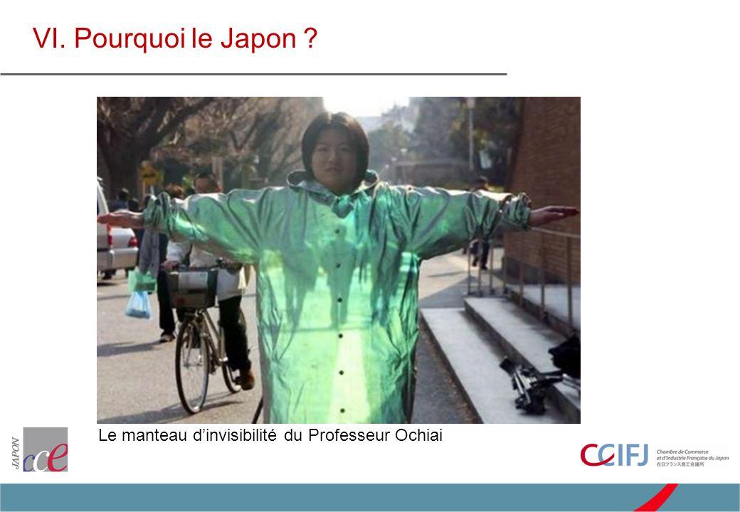 VI. Pourquoi le Japon Le manteau dinvisibilité du Professeur Ochiai