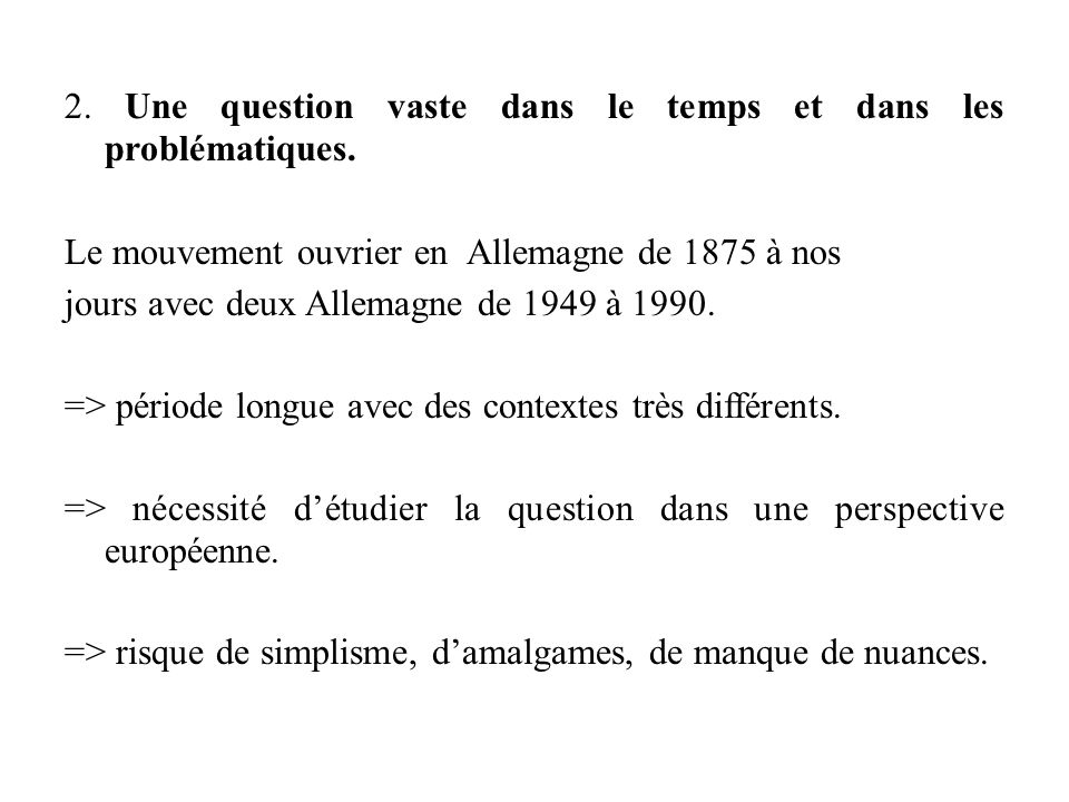 Evaluations.Etude critique dun ou de deux document(s) ex : le texte du congrès de Bade-Godesberg.