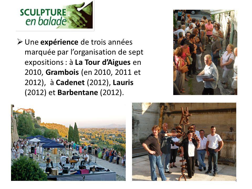 15 Plan de visite sculptures et patrimoine à Grambois 2012