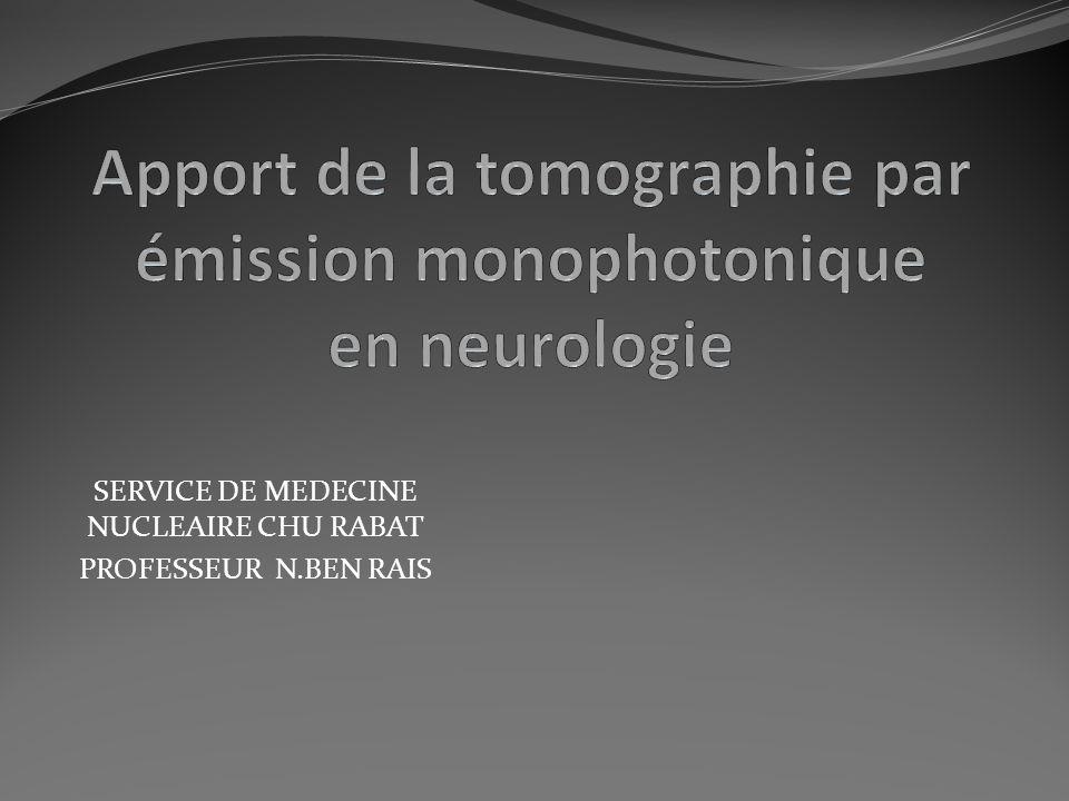 SERVICE DE MEDECINE NUCLEAIRE CHU RABAT PROFESSEUR N.BEN RAIS