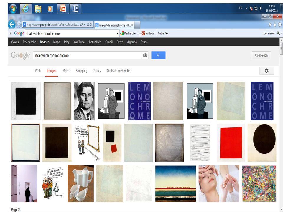 Artiste: K.Malévicth, Titre: Carré blanc sur fond blanc Dimension: 78,7 X 78,7 cm Année: 1918 Technique: Huile sur toile Lieu: Musée d Art moderne (MOMA), New York http://www.productionmyarts.com