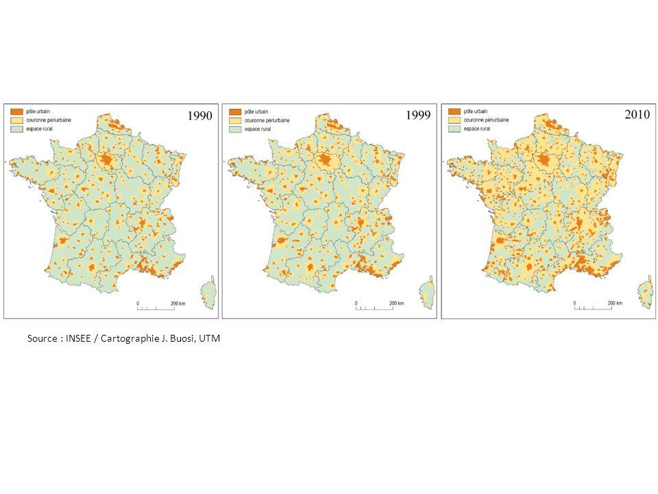 Lhypothèse de létalement urbain, de la densification généralisée