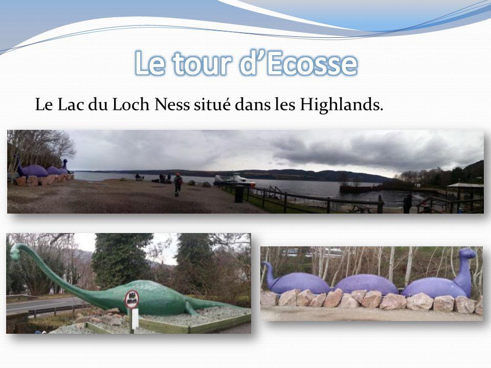 Le Lac du Loch Ness situé dans les Highlands.