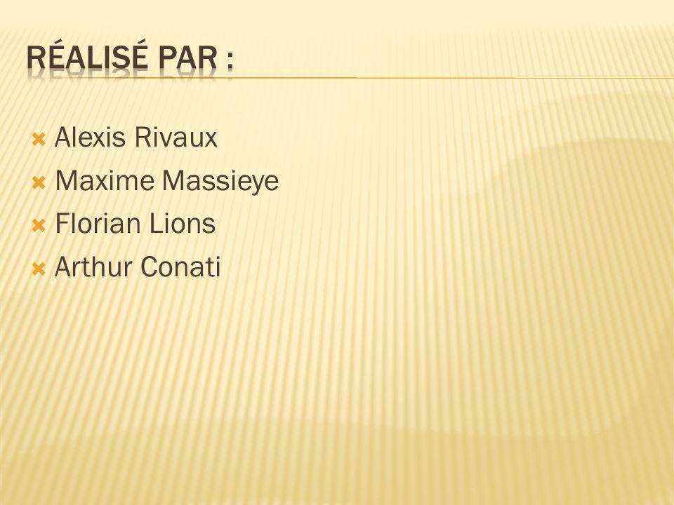Alexis Rivaux Maxime Massieye Florian Lions Arthur Conati
