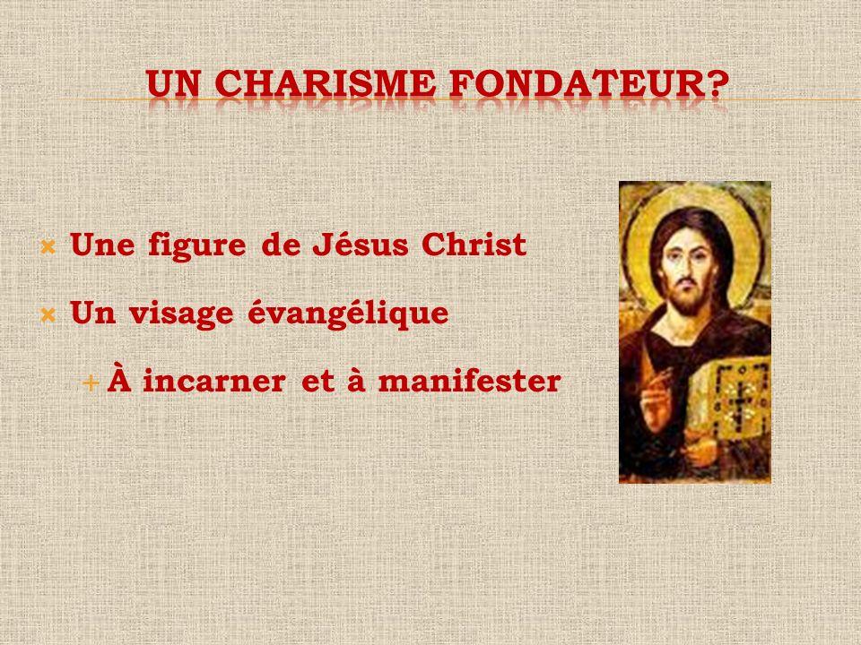 Une figure de Jésus Christ Un visage évangélique À incarner et à manifester