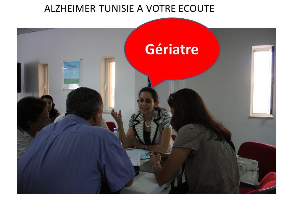 Gériatre ALZHEIMER TUNISIE A VOTRE ECOUTE