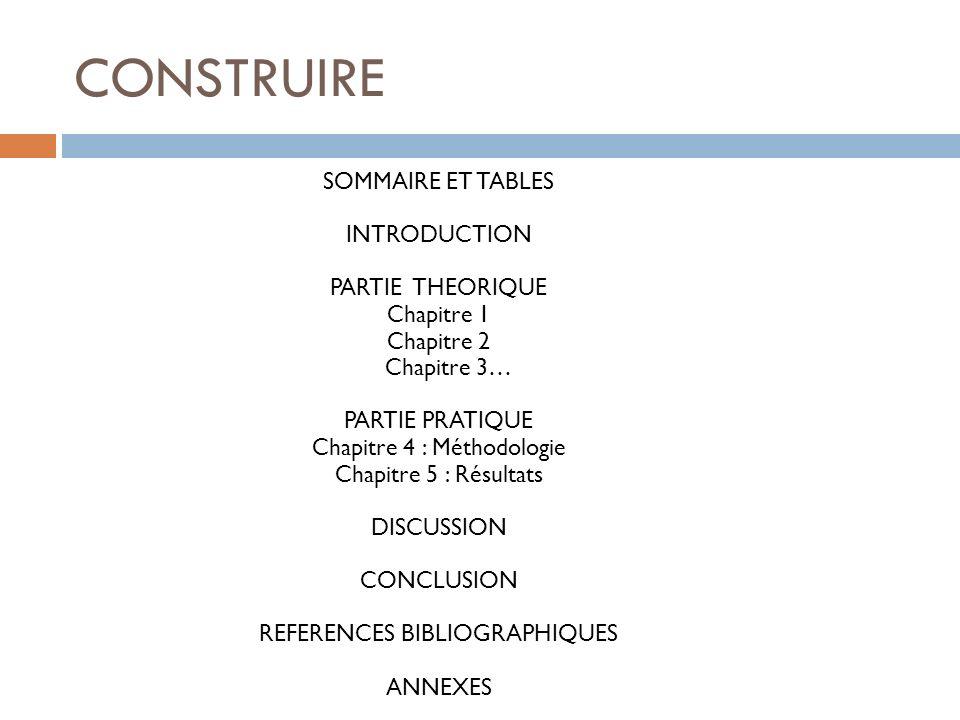 CONSTRUIRE Gabarrot et Vaidis (2007) : comment sont construits les écrits scientifiques .