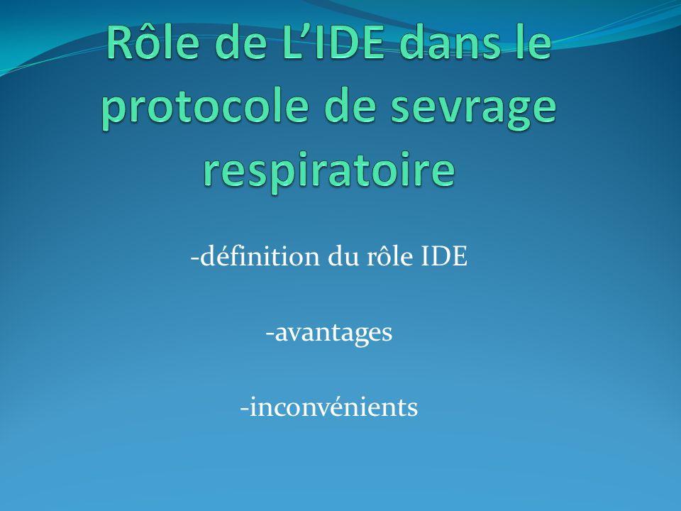 -définition du rôle IDE -avantages -inconvénients