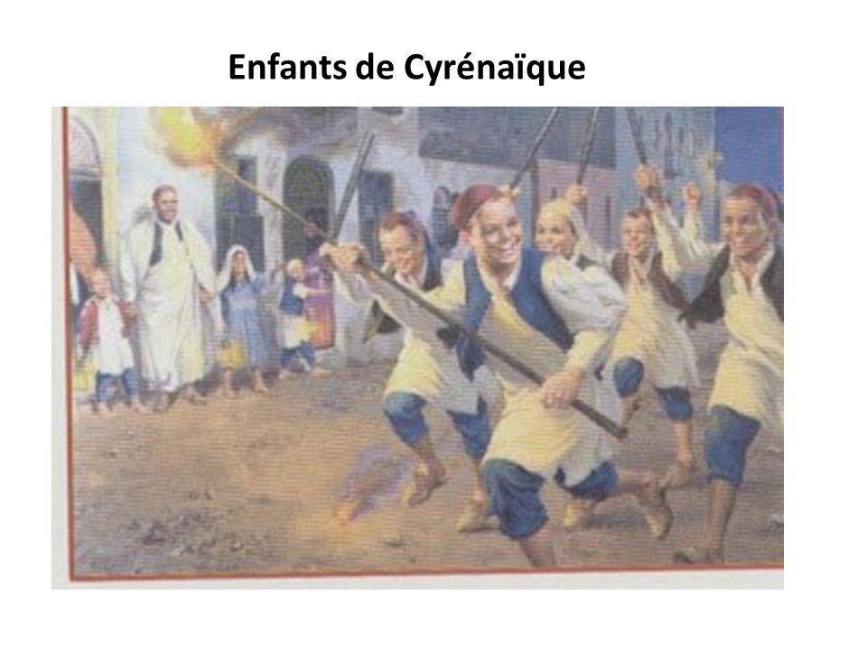 Enfants de Cyrénaïque