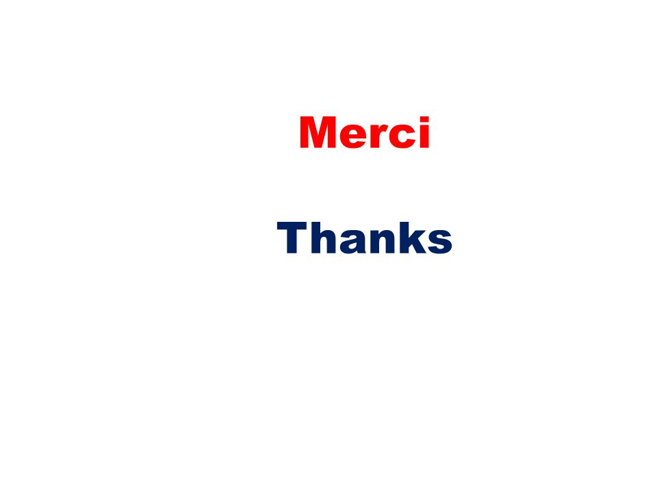 Merci Thanks