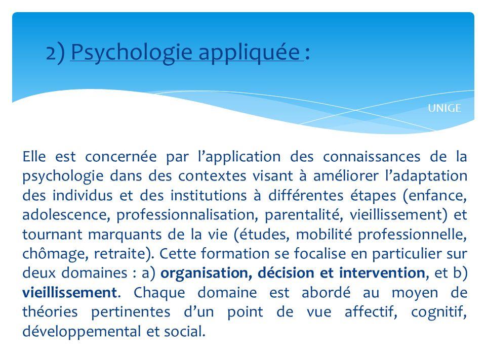 Cette formation sinscrit dans une approche empirique et couvre trois domaines principaux et complémentaires : la psychopathologie, les relations interpersonnelles et la neuropsychologie clinique.