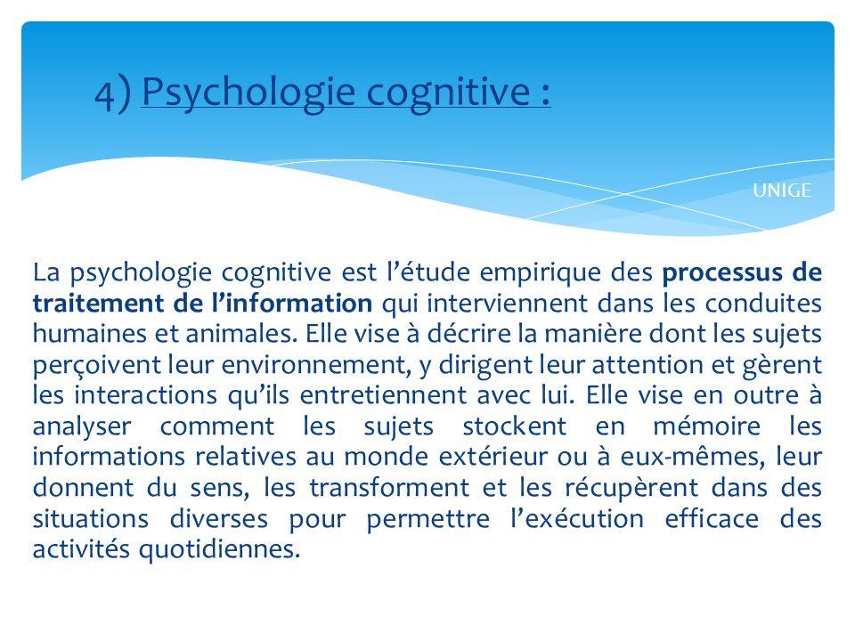 Master en Sciences sociales, orientation « Psychologie – Education » Université de Neuchâtel