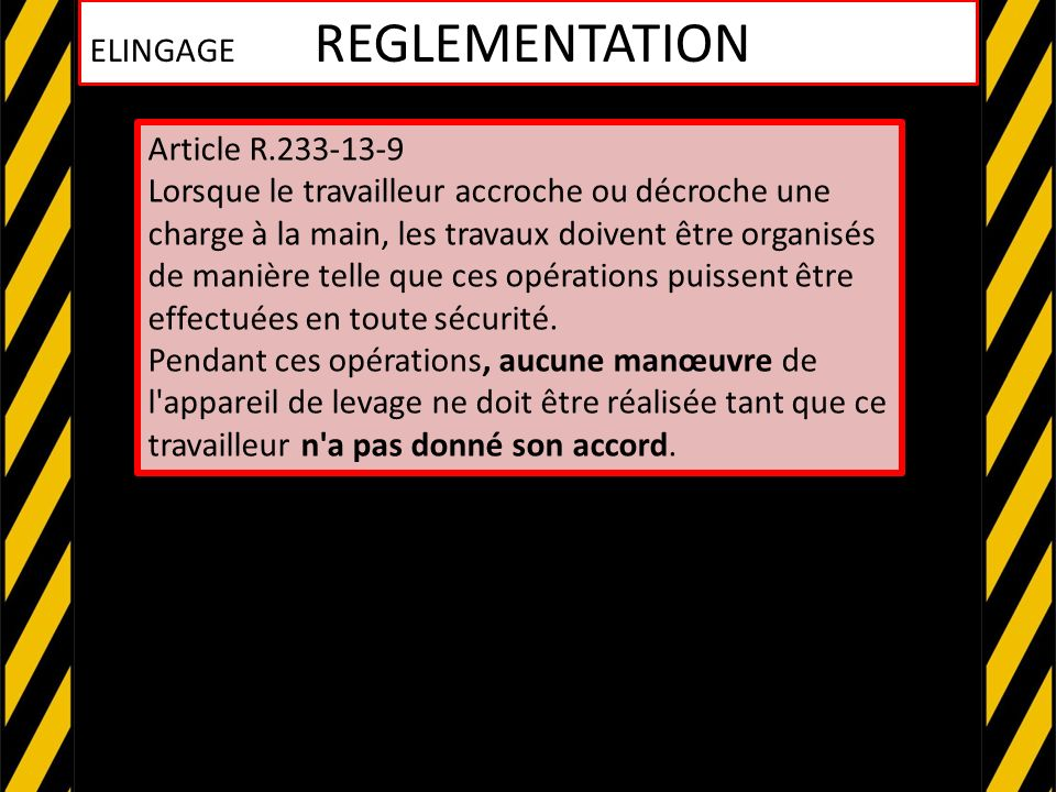 ATTENTION ! ELINGAGE 8 REGLES POUR ELINGUER EN SECURITE
