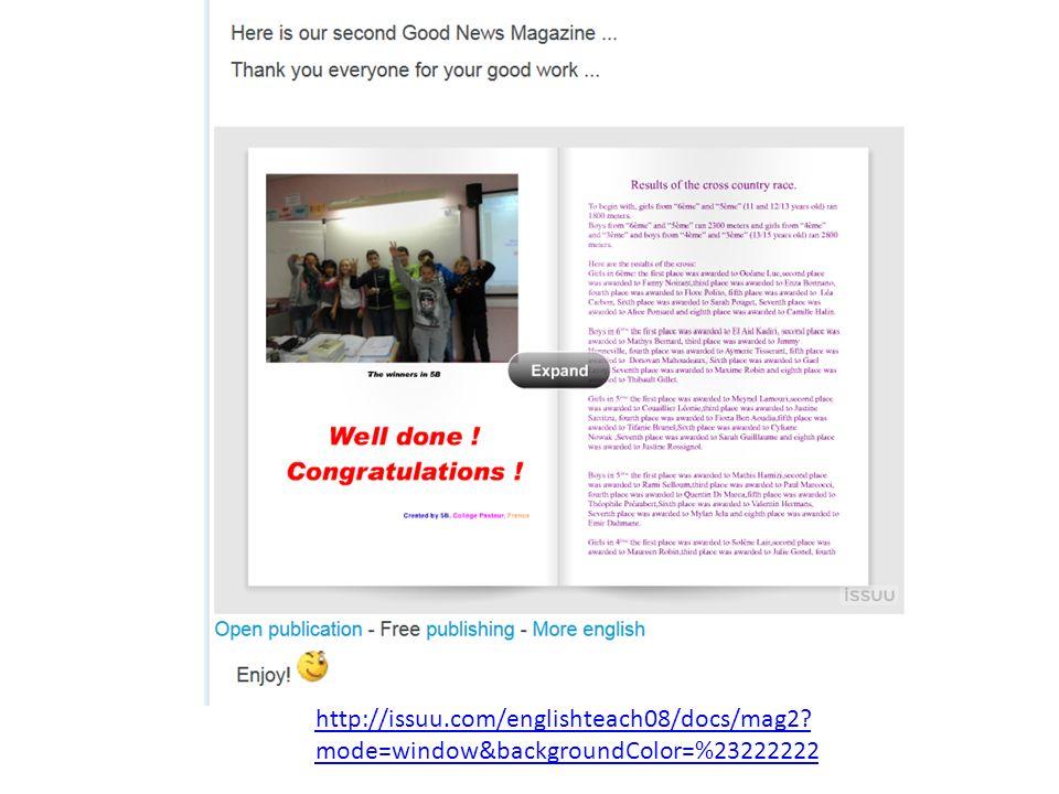 http://issuu.com/englishteach08/docs/mag2 mode=window&backgroundColor=%23222222