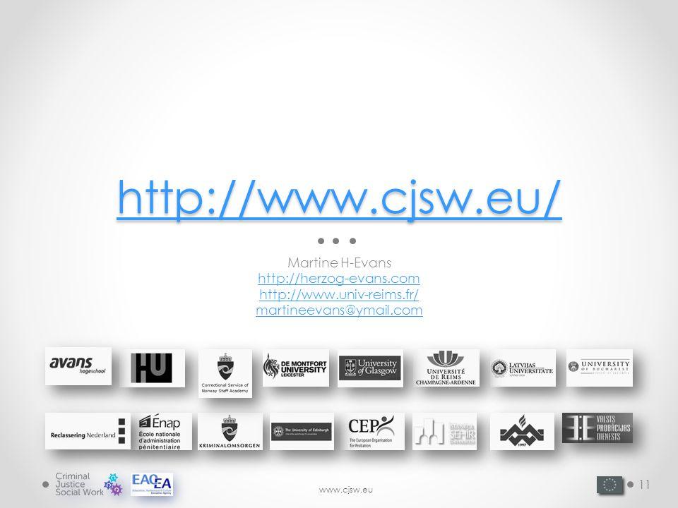 www.cjsw.eu http://www.cjsw.eu/ Martine H-Evans http://herzog-evans.com http://www.univ-reims.fr/ martineevans@ymail.com 11