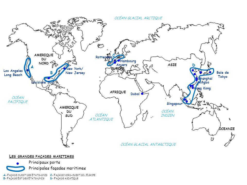 AMERIQUE DU NORD AMERIQUE DU SUD AFRIQUE ASIE EUROPE OCEANIE OCÉAN GLACIAL ARCTIQUE OCÉAN GLACIAL ANTARCTIQUE OCÉAN INDIEN OCÉAN ATLANTIQUE OCÉAN PACI
