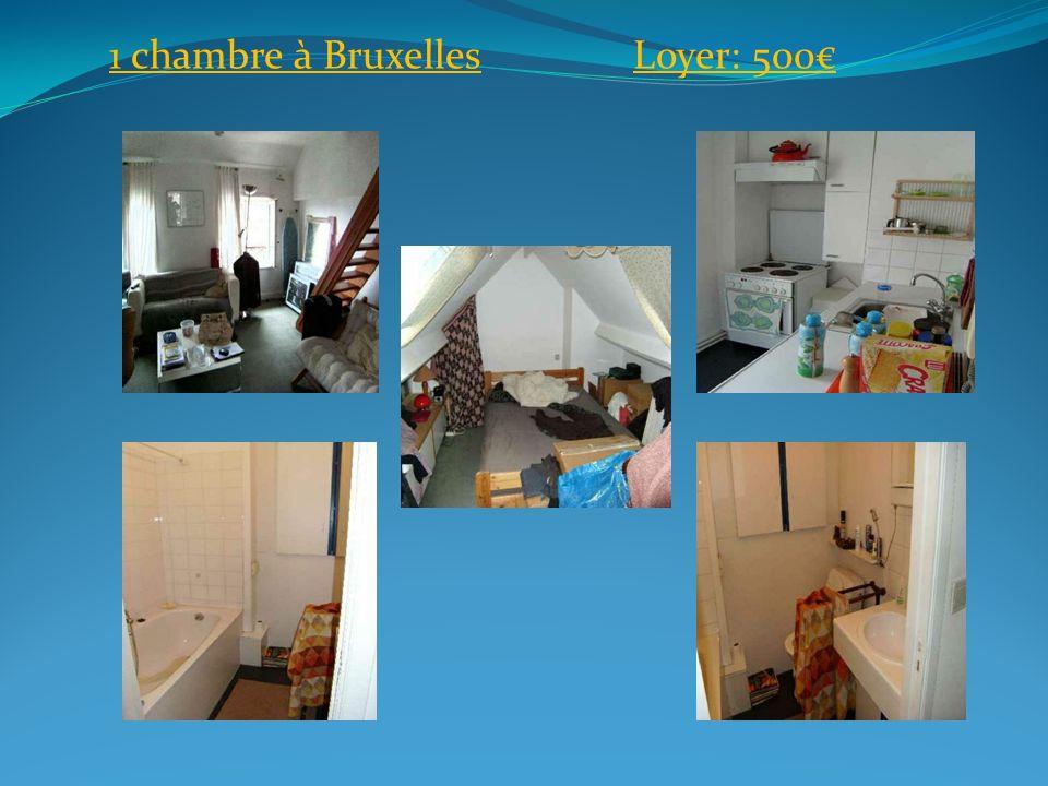1 chambre en WallonieLoyer: 450