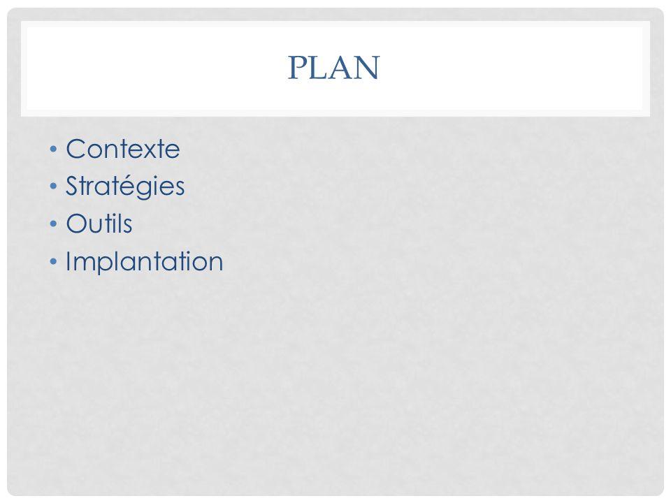 CONTEXTE DU PROJET Élaboration du cadre de référence Conception doutils organisationnels et cliniques pour soutenir la démarche dimplantation Élaborer un programme de sensibilisation et de formation pour les intervenants: professionnels et gestionnaires