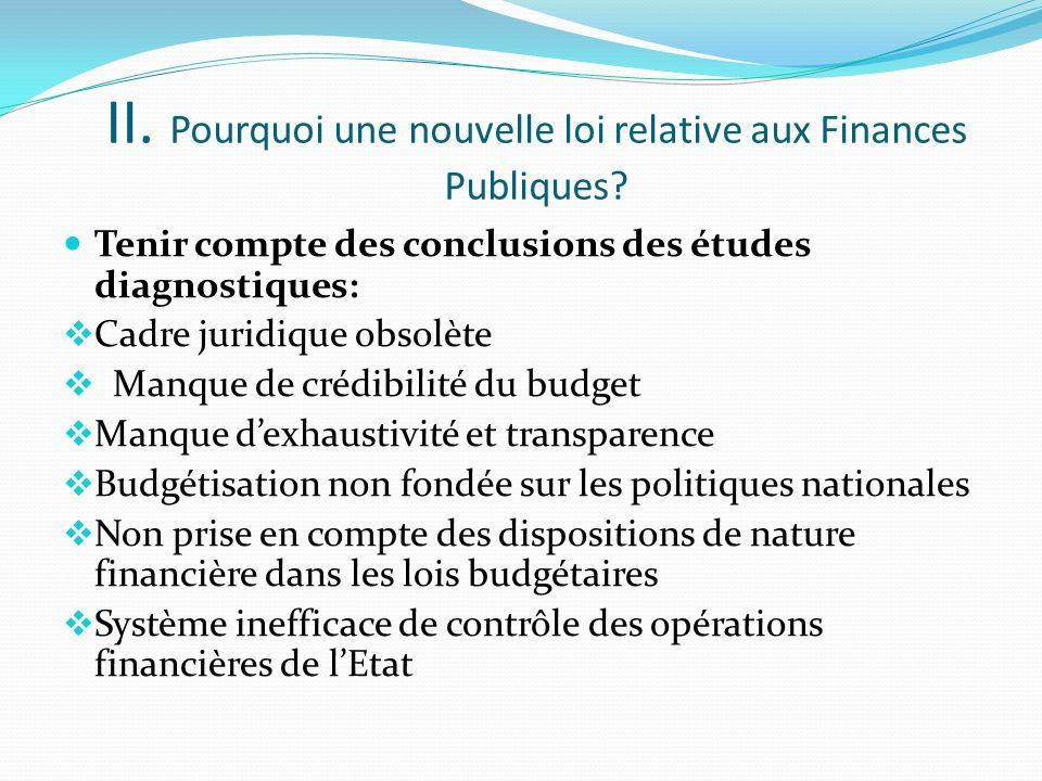 I. De la loi financière à la loi relative aux finances publiques Un regard rétrospectif 1980 : La loi financière n°80/006 du 22 janvier 1980 Budget de