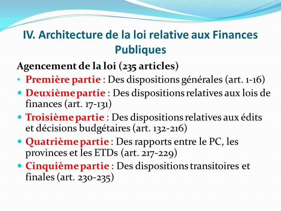 Innovations de la loi relative aux Finances Publiques (suite) Proposition des modalités pratiques de répartition des ressources à caractère national (