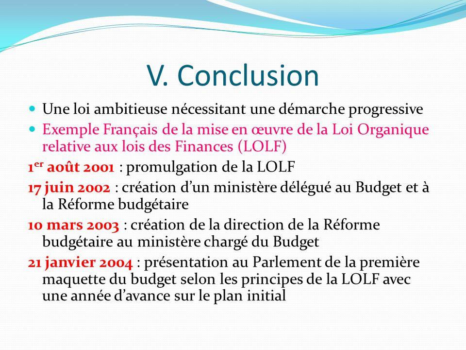 IV. Architecture de la loi relative aux Finances Publiques Agencement de la loi (235 articles) Première partie : Des dispositions générales (art. 1-16