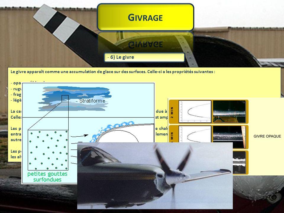 L intensité du givrage (verglas ou givre (gelée blanche) dépend de plusieurs facteurs qui peuvent être divisés en deux groupes : - les facteurs météorologiques, - les facteurs techniques.